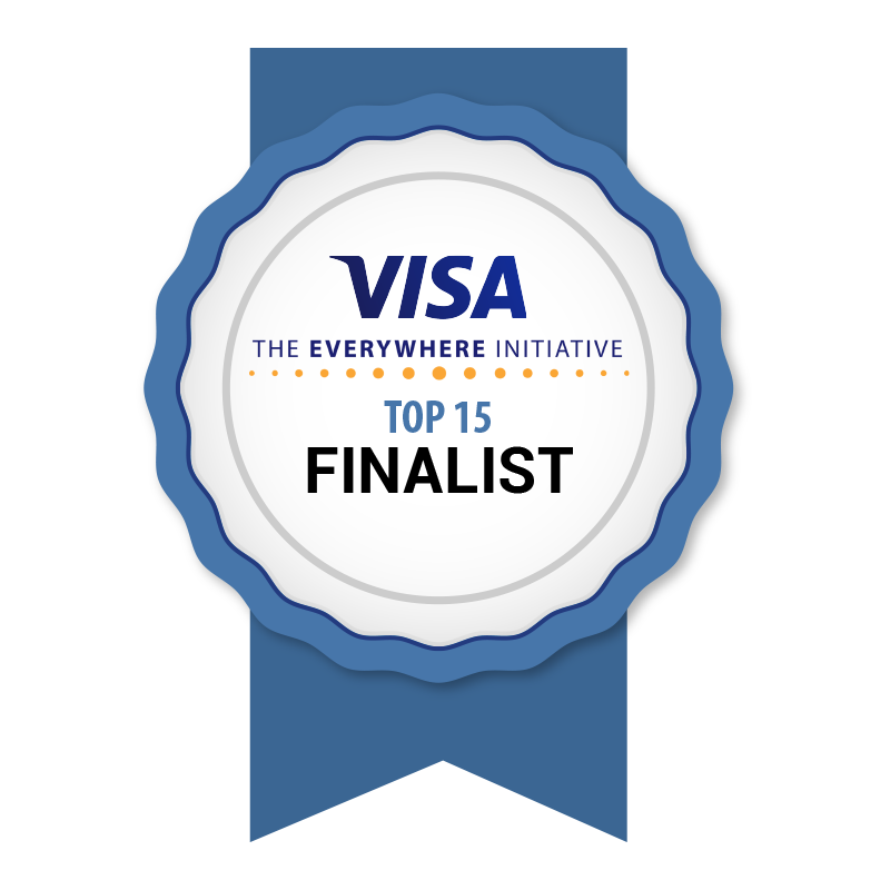 We're Visa Everywhere Initiative Top 15 Finalists!